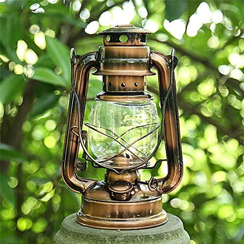 NO LOGO FMN-HOME, 1 st Retro Stijl Draagbare Verlichting Kerosene Lamp Metalen Camping licht Outdoor Camping Tent Lamp Huishoudelijke Noodlamp