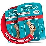COMPEED Ampollas Medianas, 10 Apósitos Hidrocoloides - Pack de 2 (total 20), Tratamiento de Pies,...