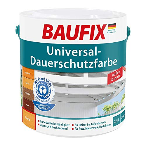 BAUFIX Universal-Dauerschutzfarbe hellgrau