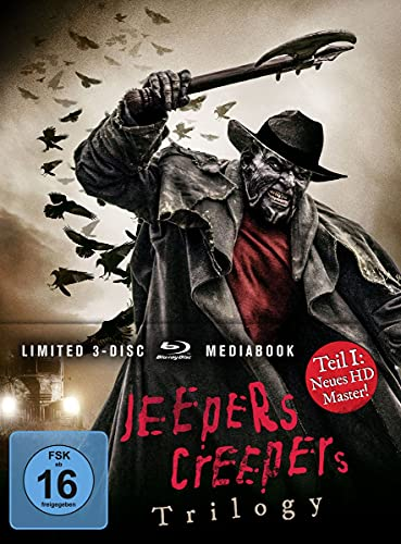 Jeepers Creepers Trilogy LTD. - Limitiertes Mediabook [Blu-ray]