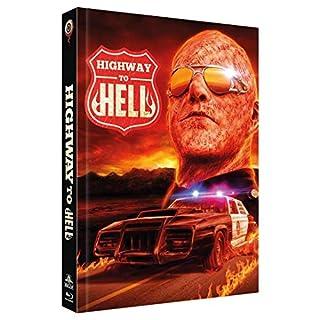 Highway zur Hölle - Mediabook, Cover B, Limitiert auf 444 Stück (2-Disc Limited Collector's Edition Nr. 37) (+ DVD) [Blu-ray]