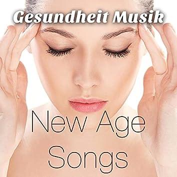 Gesundheit Musik: New Age Songs für Transzendentale Meditation mit Klavierstücke, Shakuhachi-Flöte und Naturgeräusche