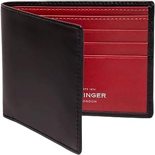 Ettinger Men's Sterling Billfold Wallet with 6 Credit Card Slips - Red