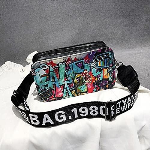 Shoulder Bags Summer Regular store Korean Version Reservation Spray Bag Graffiti Female Pa