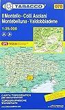 Tabacco Wandern 1 : 25 000 Il Montello -Colli Asolani Montebelluna-Valdobbiadene [Lingua inglese]: 70