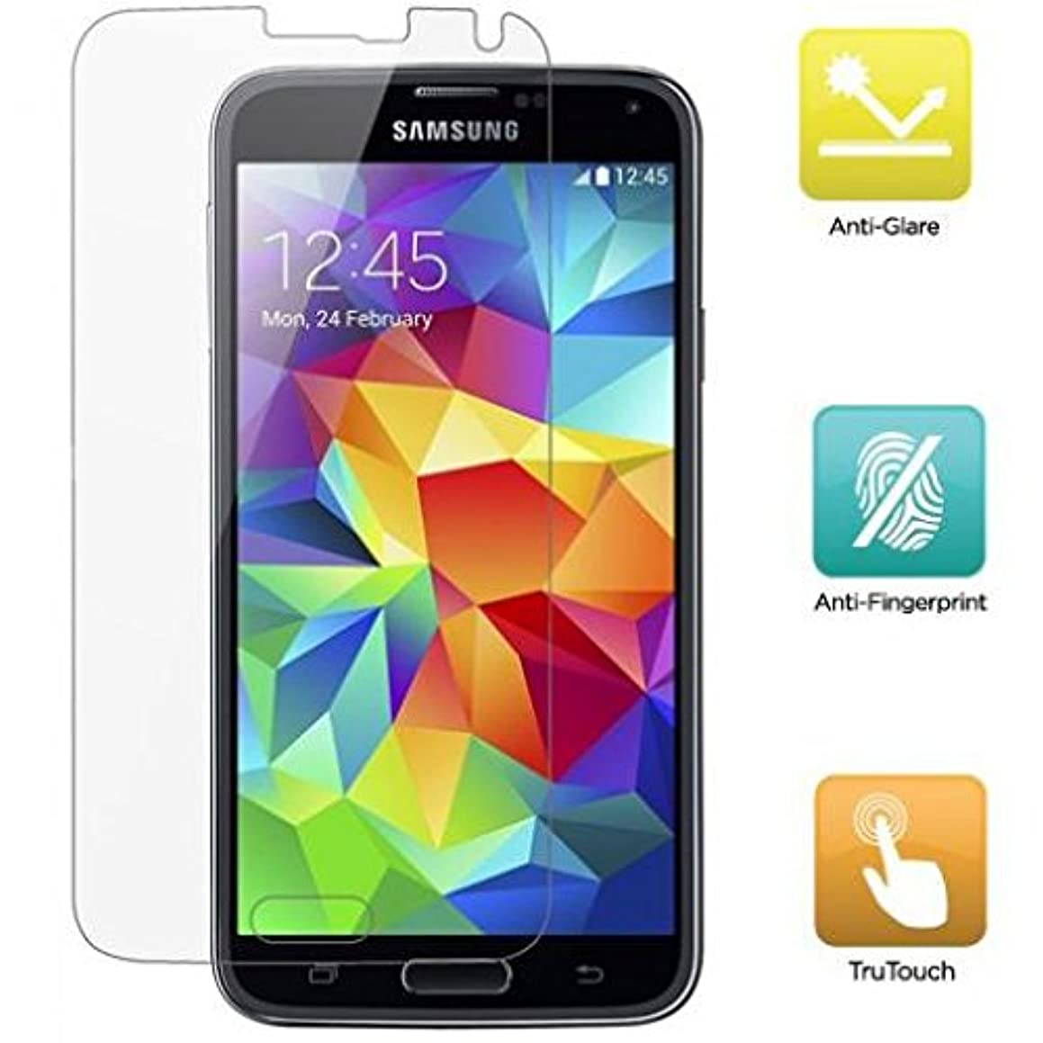 Verizon Samsung Galaxy S5 (SM-G900V) Screen Protector, Screen Protector Matte Anti-Glare Anti-Fingerprint LCD Cover Display Film [Fingerprint Resistant] for Samsung Galaxy S5 (SM-G900V)