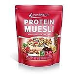 IronMaxx Protein Müsli Banane – Veganes Fitness Müsli laktosefrei und glutenfrei -