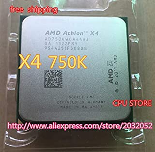 Cailiaoxindong Athlon II X4 750K x4 750K (3.4GHz 4MB 4 cores Socket FM2 904-pin) AD750KWOA44HJ Quad-Core CPU can Work
