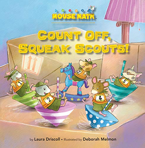 Count Off, Squeak Scouts! (Mouse Math) (English Edition)