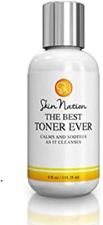 The Best Facial Toner Ever | with Organic Natural Ingredients - Rose Flower Water & Tea Tree Toner for Face - Anti Aging Aloe Vera, Pore Refining & Hydrating | Skin Nation by Michelle Stafford