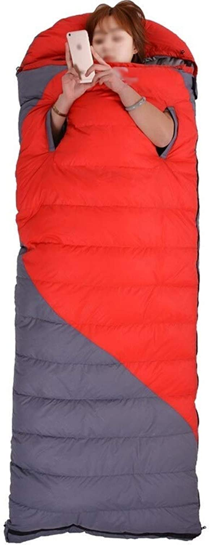 AOSlLEEP Erwachsener Schlafsack Einzelner Ultraleichter 210T Polyester Spinnender Doppelschlafsack Geeignet Für Wandern Im Freien Beim Bergsteigen (Farbe   Orange) B07QF8R5L6  Karamell, sanft
