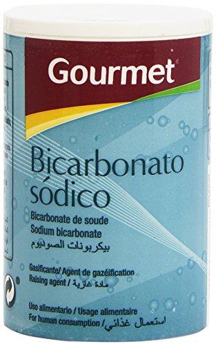 Gourmet - Bicarbonato sódico - Uso alimentario - 180 g