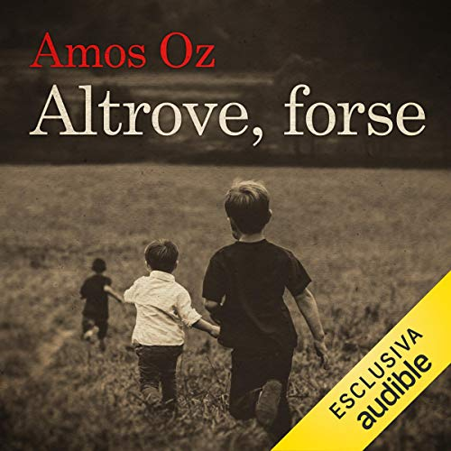 Altrove, forse audiobook cover art