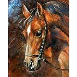 VRTUR 5D Taladro Completo Pintura Diamante Punto de Cruz Taladro Cuadrado Pintura Animal Decoraciones para el hogar Casa Nueva