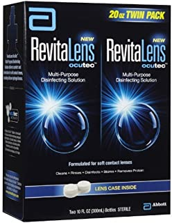 RevitaLens Ocutec Multi-Purpose Disinfecting Solution Twin Pack by RevitaLens