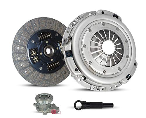 Clutch With Slave Kit Compatible With Sx4 Base Crossover Ja Je Jx Sport Jlx Sortback 2010-2013 2.0L 1995CC 122Cu. In. l4 GAS DOHC Naturally Aspirated (6 SPEED; 04-272S)