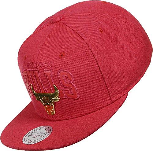 Mitchell & Ness–Gorra eu942Golden Logo Chicago Bulls Brooklyn Nets Cleveland Cavaliers