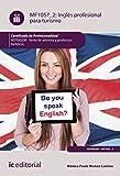 Inglés profesional para turismo. HOTG0208 - Venta de productos y servicios turísticos