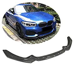 Good Fitment: This front bumper lip is well fits for BMW 1 Series F20 F21 120i 125i M Sport Hatchback 2016 2017 2018, only for factory M Sport/M Tech bumpers Professional Installation: Need to drill. Glue tape and tapping screws included to ensure th...