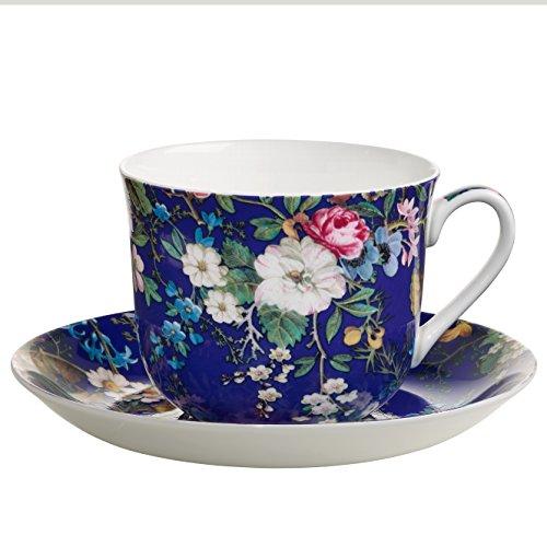 Maxwell & Williams Kilburn Tasse, Porzellan, mehrfarbig, 17.5 x 17.5 x 9.5 cm, 2-Einheiten