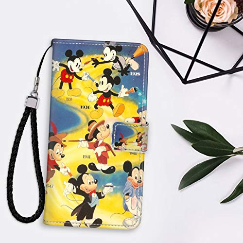 Disney Collectionwallet Case For Iphone 11 6 1 Inch Mickey Mouse Wallpaper Luxury Id Cash S Holder Carrying Pouch Folio Flip Pu Leather Cover Lanyard Full Body Dailymail