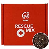 Noot Rescue Potting Mix to Revive Plants from Root Rot, Rapidly Propagate Nodes & Cuttings. Coconut Husk, Fibers, Coir with Coarse Perlite Pre-Soaked with Noot Plant Food. 1 Quart