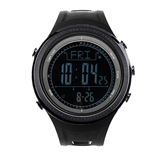 SUNROAD Outdoor Sports Watch, Pedometer Altimeter Barometer, Weather Forecast,...