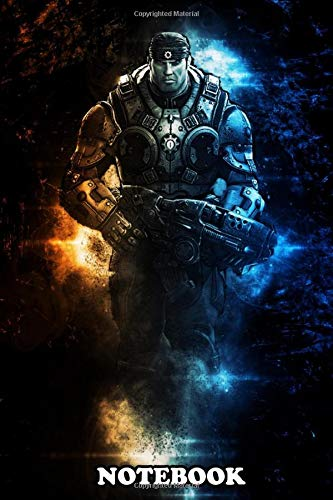 Notebook: Gears Of War Marcus Michael Fenix , Journal for Writing, College Ruled Size 6