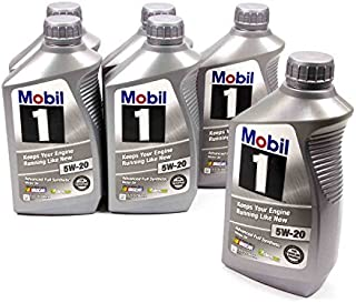 Mobil 1 5W20 Motor Oil 1 qt Case of 6 P/N 44975