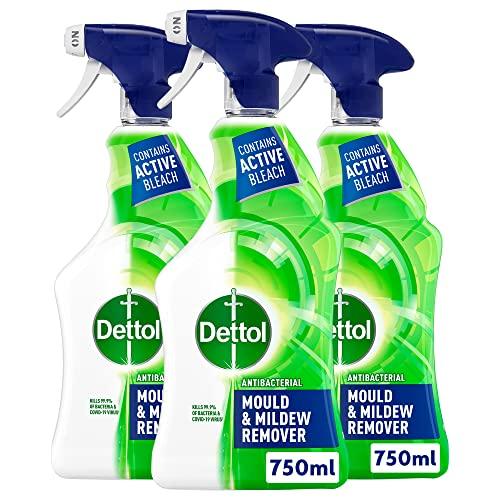 Dettol Complete Clean Mould And Mildew 750 Ml, Paquet de 3 (El ambalaje puede variar)