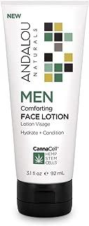 Andalou Naturals CannaCell MEN Comforting Face Lotion 3.1 fl oz