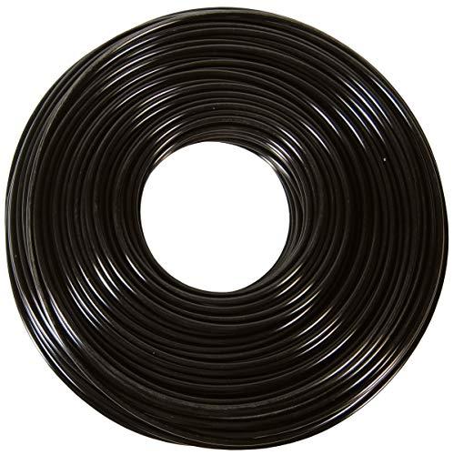 """Dixon 0817BR Black Polyethylene Tubing, 1/4"""" OD, 0.170"""" ID, 0.040"""" Wall"""