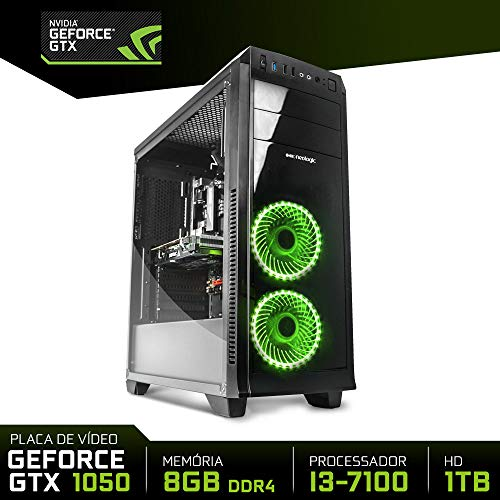 PC Gamer Neologic Moba Box NLI80383 Intel i3-7100 8GB(GeForce GTX 1050 2GB) 1TB
