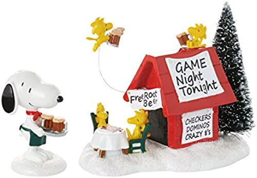 Department 56 Peanuts Village Snoopy's Game Night Accessory Figurine 4053054 New