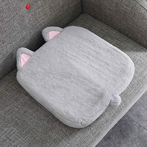 F-LFJBK schattig zitkussen, niet splitsbaar, voor woonkamer, inklapbaar, stoel voor wiegstoel, kussens, cartoon-motief, creatieve stekkerdoos-kussens