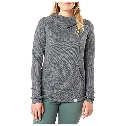 5.11 Tactical Series Pull Aphrodite Hooded Pullover à Capuche Femme, Black HB, FR (Taille Fabricant : XL)