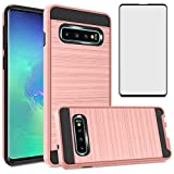 Asuwish Compatible with Samsung Galaxy S10 Plus Case
