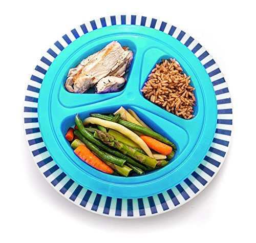 Portions Master Plate | Diet Weight Loss Aid | Food Management & Servings Control (71kg)