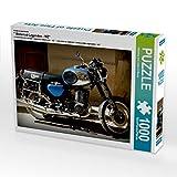 CALVENDO Puzzle  Motorrad-Legenden - MZ 1000 Teile Lege-Größe 64 x 48 cm Foto-Puzzle Bild von Henning von Loewis of Menar