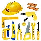 Amitasha Mechanics Tools Kit Toys for Kids - (Pack of 12 Tools)