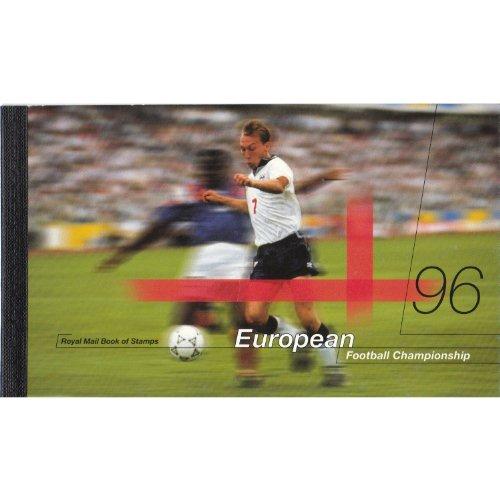 Royal Mail - Libretto di francobolli, 96 francobolli del campionato europeo di calcio 1996