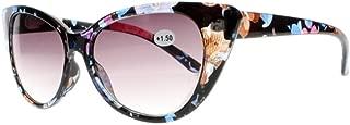 Designer Stylish Women Cat Eye Reading Glasses Sunglasses Grey Lens Sun Readers +1.00~+4.00