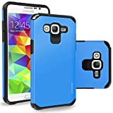 Grand Prime (G530) Case, Cellularvilla [Hybrid] [Rugged] Dual Layer Armor Protector Case [Hard + Soft] Heavy Duty Shockproof Case For Samsung Galaxy Grand Prime (G530) (Cricket)