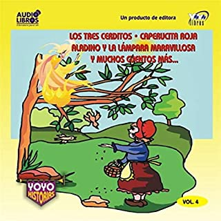 Los Tres Cerditos y Muchos Cuentos Mas Volume 4 [The Three Little Pigs and Many More Stories, Volume 4] audiobook cover art