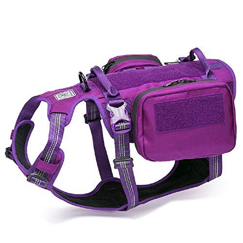 Chai's Choice Rover Scout Hiking Camping Backpack Harness - (Purple - X Large)