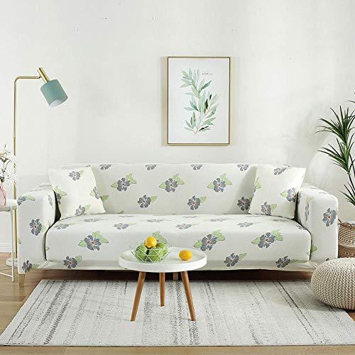 Fundas de sofá elástico 1 Plaza, Funda de sofá elástica para Sala de Estar, Funda de sofá elástica, Fundas de sofá en Forma de L de una Sola sección, 1 PCS
