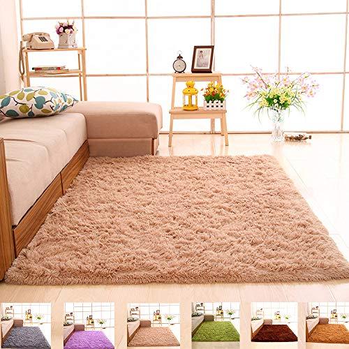 DelongKe Kinder Krabbeln Teppich, Kinder Matte Für Baby Puzzle Boden Matten, rutschfeste, Pflegeleichtigkeit, Für Kinderzimmer Krabbeln, Spiele Teppich,160x200cm
