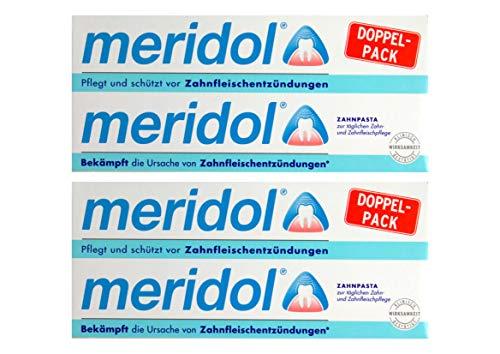 2x MERIDOL Doppelpack (2x 75ml) Zahnfleischschutz Zahnpasta - NEU & OVP