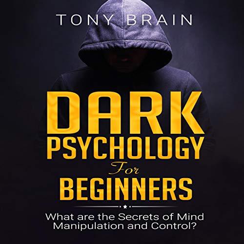 Dark Psychology for Beginners audiobook cover art