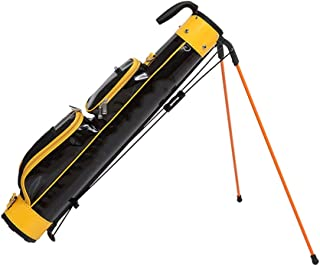 Golf Stand Bag, 100% Waterproof, Lightweight and Portable, Multi-Color Optional happyL (Color : Yellow)